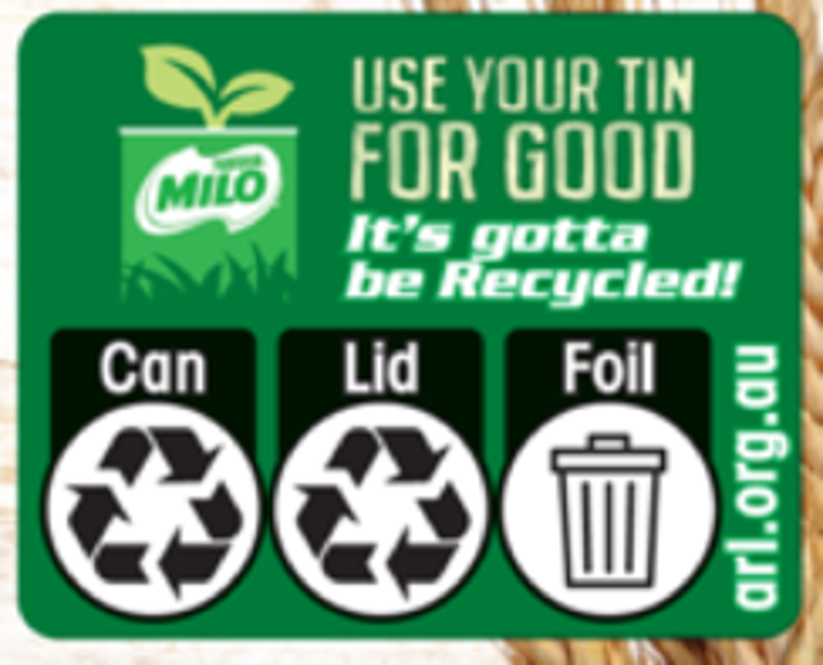 MILO® POWDER  SUSTAINABILITY STORY
